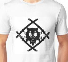xavier wulf hollow squad BW Unisex T-Shirt