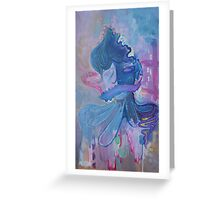 Abstract Self Portrait Greeting Card