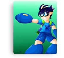 Splatoon Mega Man Canvas Print