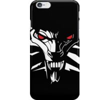The witcher logo white tipe iPhone Case/Skin