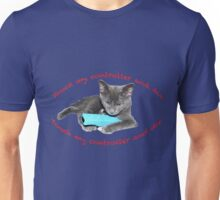 Cat and Wii Unisex T-Shirt
