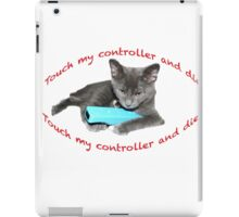 Cat and Wii iPad Case/Skin