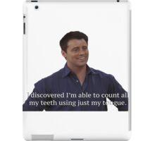 Joey Tribianni from Friends iPad Case/Skin