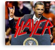 slayer obama Canvas Print