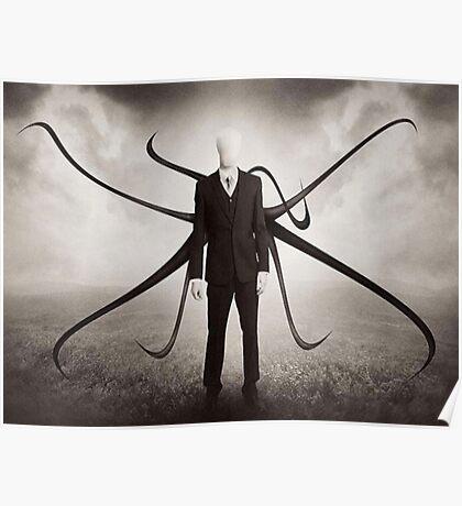 Slender Man style Poster