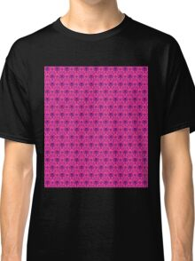 The Haunted Mansion Wallpaper - Pink/Violet Classic T-Shirt