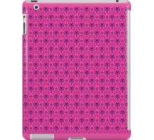 The Haunted Mansion Wallpaper - Pink/Violet iPad Case/Skin
