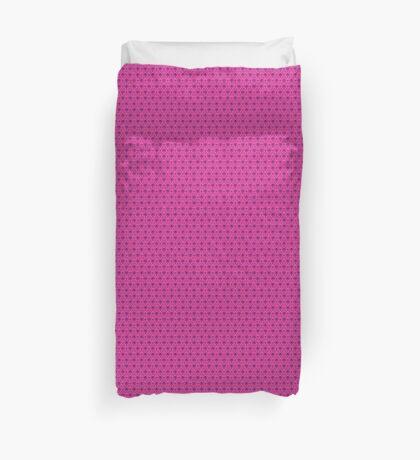 The Haunted Mansion Wallpaper - Pink/Violet Duvet Cover