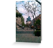 San Diego, California Greeting Card