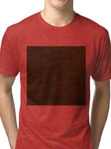 REDDISH BROWN FUR Tri-blend T-Shirt