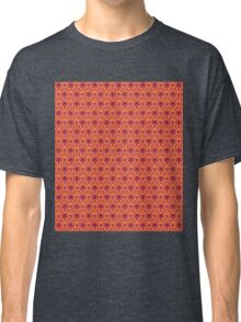 The Haunted Mansion Wallpaper - Orange/Red Classic T-Shirt