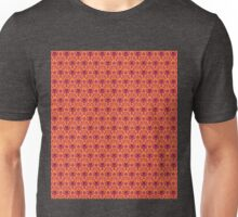 The Haunted Mansion Wallpaper - Orange/Red Unisex T-Shirt