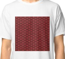 RED REPTILE SKIN Classic T-Shirt