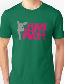 Gun Han Shot First Funny T-Shirt