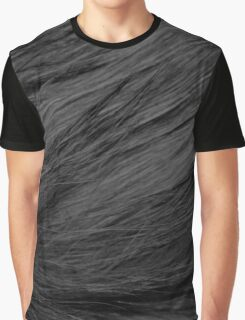 LONG HAIRED BLACK CAT FUR Graphic T-Shirt