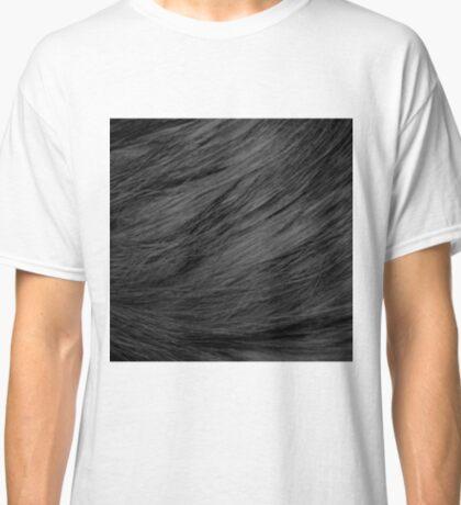 LONG HAIRED BLACK CAT FUR Classic T-Shirt