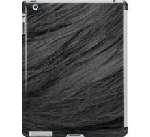 LONG HAIRED BLACK CAT FUR iPad Case/Skin