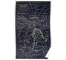Civil War Maps 0455 Gettysburg battlefield Poster