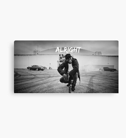 Kendrick Lamar - Alright (Music Video) Canvas Print
