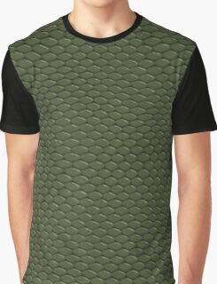 GREEN REPTILE SKIN Graphic T-Shirt