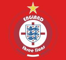 World Cup Football 6/8 - Team England Baby Tee