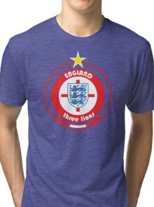 World Cup Football 6/8 - Team England Tri-blend T-Shirt