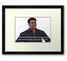 Joey Tribianni from Friends Framed Print