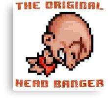 Bonk's Adventure original head banger Canvas Print