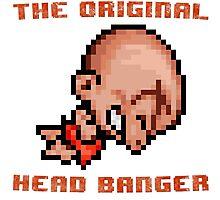 Bonk's Adventure original head banger Photographic Print