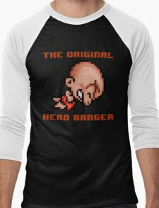 Bonk's Adventure original head banger Men's Baseball ¾ T-Shirt