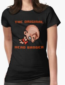 Bonk's Adventure original head banger Womens Fitted T-Shirt