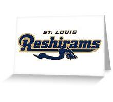 St. Louis Reshirams Greeting Card
