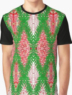 Ottoman Leaves in Ruby-red sensations Graphic T-Shirt