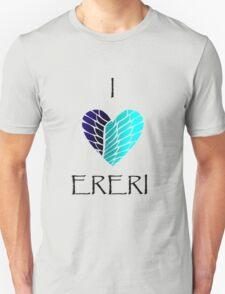 I Heart Ereri (Black Letters) T-Shirt