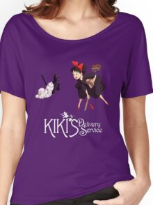 Kiki's Delivery Service-Studio Ghibli Women's Relaxed Fit T-Shirt