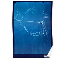 Civil War Maps 0595 Macon Geo 1864 Inverted Poster