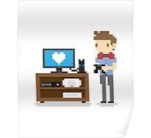 i love video games shirt! (console, pc) Poster