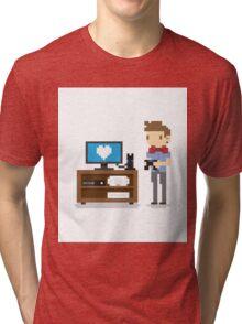 i love video games shirt! (console, pc) Tri-blend T-Shirt