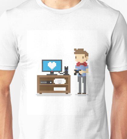 i love video games shirt! (console, pc) Unisex T-Shirt