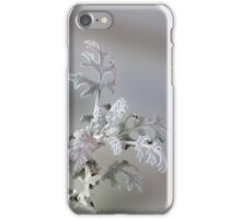 Natural Christmas Decorations iPhone Case/Skin