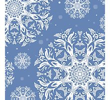 winter pattern Photographic Print