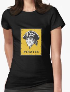 Pittsburgh Pirates 1 Womens Fitted T-Shirt