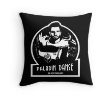 Paladin Danse Throw Pillow