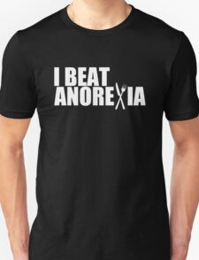 I Beat Anorexia Funny T-Shirt