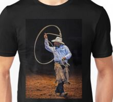 Roping at the Rodeo Unisex T-Shirt