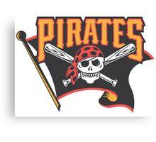 Pittsburgh Pirates 2 Canvas Print