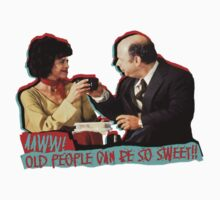 Clueless - Mrs. Geist - Old People Can Be So Sweet! One Piece - Short Sleeve