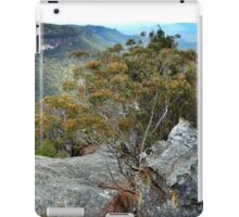 View over the Wolgan Valley iPad Case/Skin