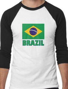 The Pride of Brazil Men's Baseball ¾ T-Shirt