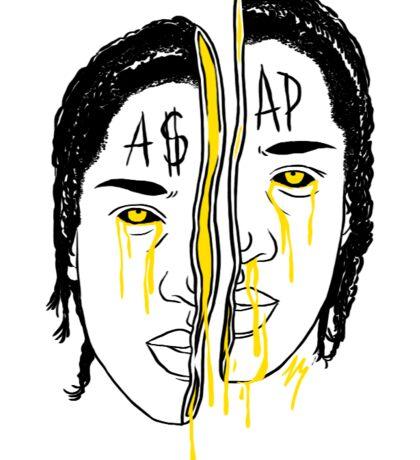 A$AP Rocky  Sticker